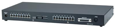 RS422 RS232 RS485 Wiring Hub, 16 Port - Telebyte Model 290